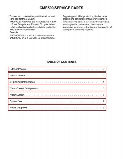 SCOTSMAN 11-0437-21 Cube Size Control