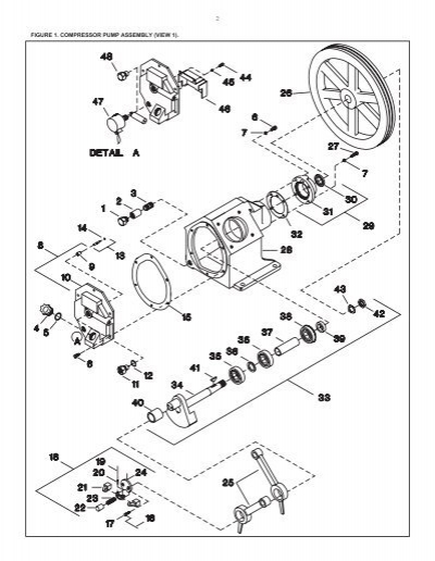 parts list t30 model 2545 two stage industrial air