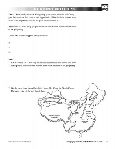 Settlement Geography Notes