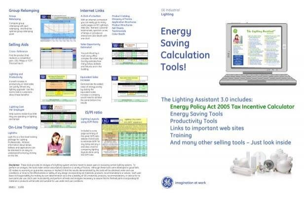 Energy Saving Calculation Tools Ge Lighting Asia Pacific