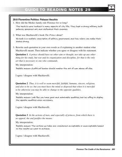 guide rh yumpu com Reading Quotes guide to reading notes 20