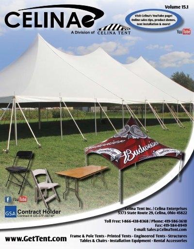 & Catalog - Celina Tent