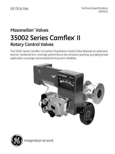 Download Masoneilan Valves 35002 Series Camflex Ii     - GE