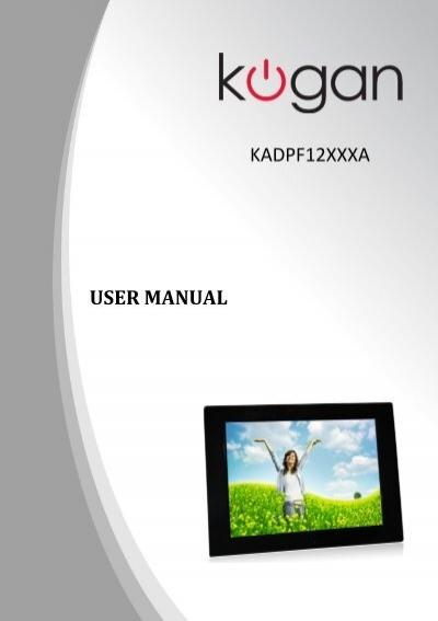kogan digital photo frame user manual pixels1st com rh pixels1st com kogan steam mop user manual kogan television user manual
