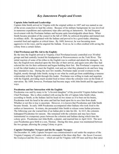 Worksheets Jamestown Worksheet laj evaluating key jamestown people and events worksheet settlement