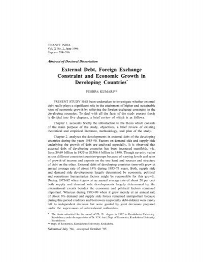 foreign exchange and economic developement india Economic policy and social affairs in the brics  russia, india, china and south africa – on the  sovereign wealth funds and official foreign exchange.