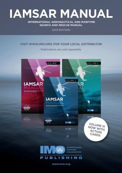 iamsar manual pdf free download