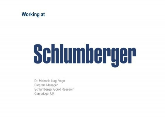 Schlumberger imperial college developing your research career schlumberger imperial college developing your research career fandeluxe Gallery