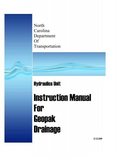 manual da tridimensional geopak win sample user manual u2022 rh userguideme today Rocks GEOPAK GEOPAK Icon