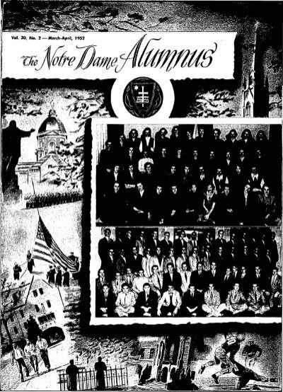 Notre Dame Alumnus, Vol. 30, No. 02 March April 1952