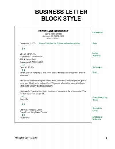 Business letter format gregg reference manual 28 images business letter format gregg reference manual business letter block style spiritdancerdesigns Choice Image