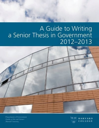 what is a senior thesis paper Senior thesis examples graduating seniors in biological sciences have the option of submitting a senior thesis for consideration for honors and research prizes  below are some examples of particularly outstanding theses from recent years (pdf).