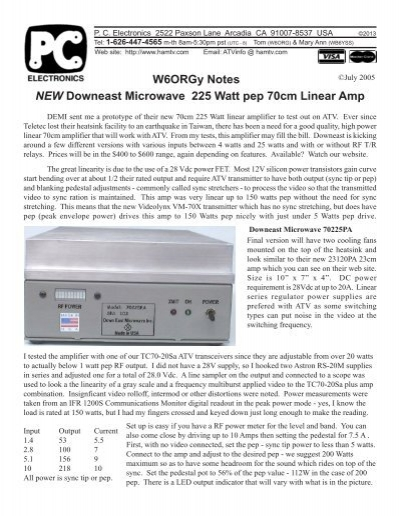 70225PA - PC Electronics