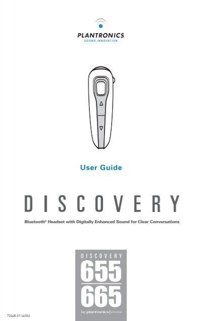 Plantronics D655 User Guide