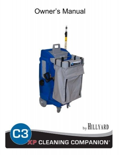 Hillyard C3 Restroom Cleaning : Hillyard