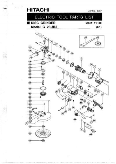 g23ub2 exploded diagram and parts listing