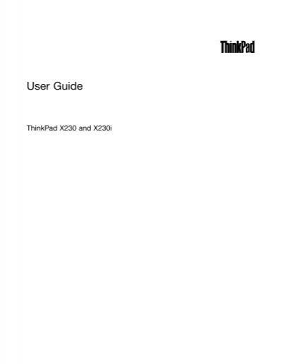 thinkpad x230 user guide lenovo rh yumpu com lenovo thinkpad x230 user guide lenovo x250 user guide