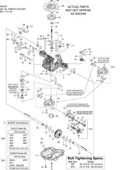 Tuff Torq 46 Service Manual