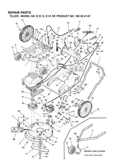 repair parts tiller