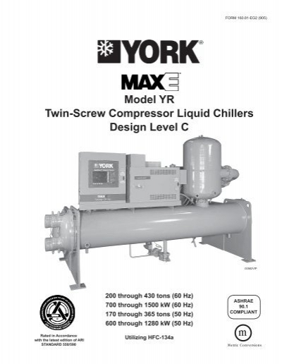 Mcquay Screw Compressor Manual