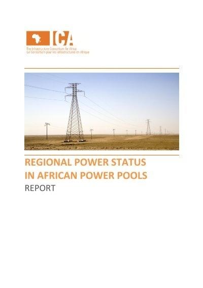 Regional power status in african power pools the infrastructure regional power status in african power pools the infrastructure sciox Images
