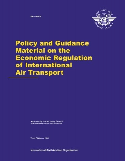 regulation of air transport economic rationale and impact Government regulation regarding government regulations, challenges, impact on airline taxes which threaten to increase the cost of air travel.