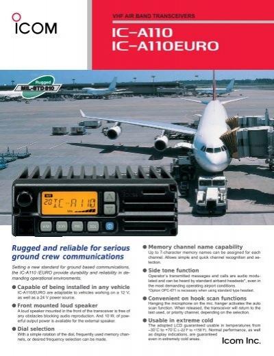 Parts Accessories /& Plug Icom Standard Hand Mic//A110 Hm-161 ICOM AMERICA INC