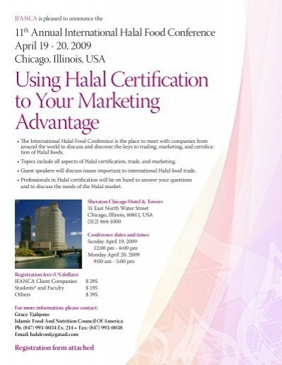 Using Halal Certification to Your Marketing Advantage - IFANCA