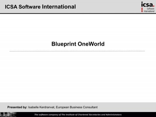 Blueprint oneworld ila malvernweather