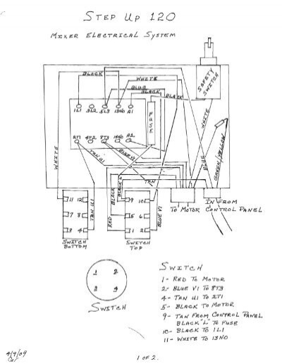 view wiring diagram  110v electric