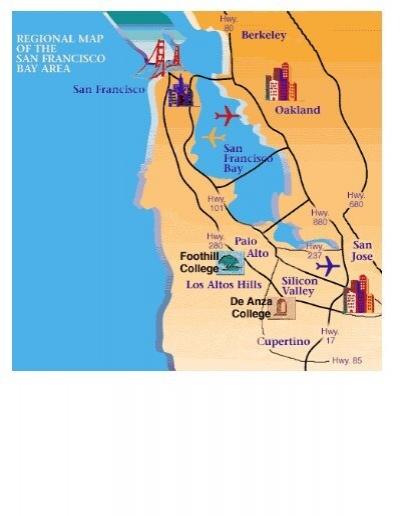 de anza college campus map Campus Maps Foothill De Anza Community College District de anza college campus map