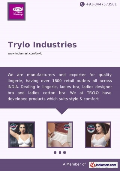 3fe8632fb1007 Trylo Industries, Mumbai - Manufacturer of Daily Wear ... - IndiaMART
