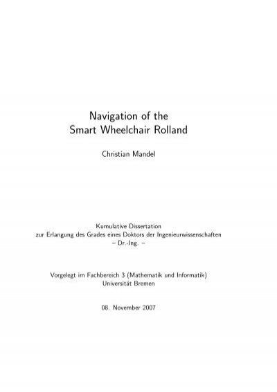 kumulative dissertation uni bremen