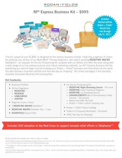 Rodan And Fields Business Kits Best Business - Rodan and fields business card template