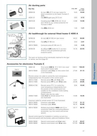 truma caravan heater instructions