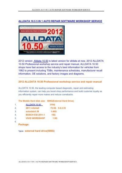 Alldata 10.40 Download