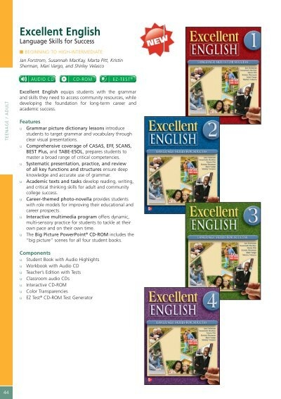 Excellent English - McGraw-Hill Books