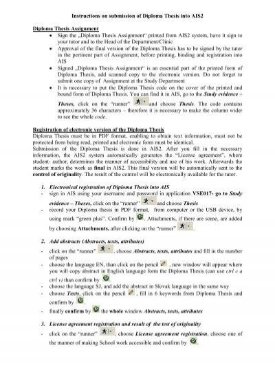 diploma thesis jfmed