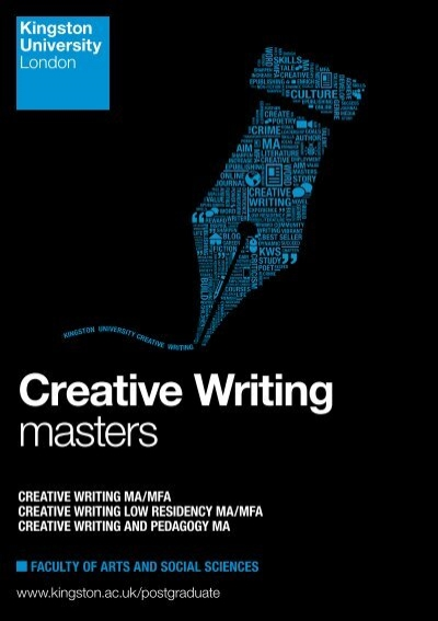 creative writing masters uk