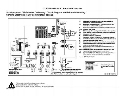 DTS 3341/3361/3381 –400/460V Standard ... - Pfannenberg