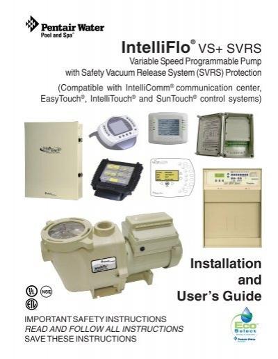 intelliflo vs svrs installation and user s guide rev a 11 nucci rh yumpu com