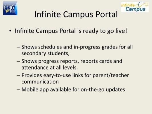 u46 infinite campus student login