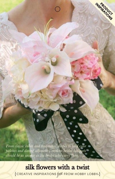 726695 Silk Flowers With A Twistdd Hobby Lobby
