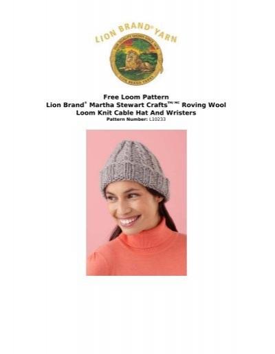 Free Loom Pattern Martha Stewart Craftstmmc Joann