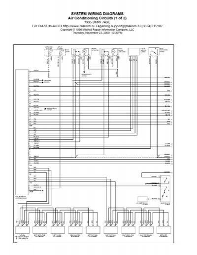 1995 Bmw Sunroof Wiring Diagram