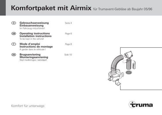 Komfortpaket mit airmix truma asfbconference2016 Choice Image