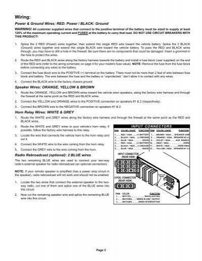 3 whelen 295hfsa6 wiring diagram whelen lightbar controllers whelen 295hfsa6 wiring diagram at creativeand.co