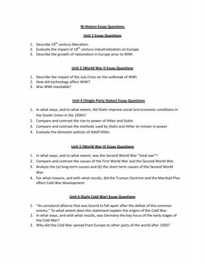 ib history essay writing tips A guide to the ib history ia, created by ib history teachers ib  the history ia is a technical piece of writing and you can do well if you follow instructions.
