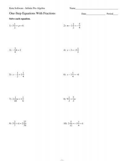 math worksheet : kuta math worksheets free fractions percents  kuta math  : Kuta Math Worksheets
