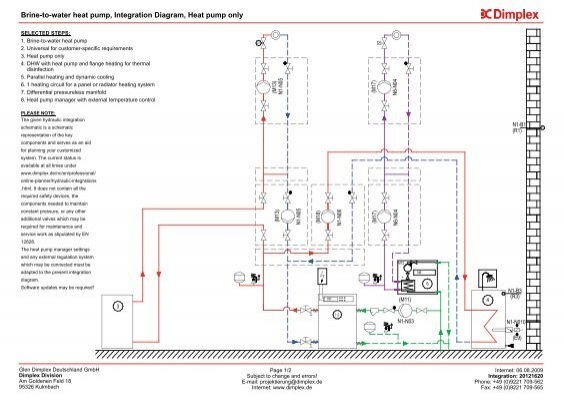 Brine To Water Heat Pump Integration Diagram Heat Instal Focus